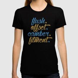 flush offset camber fitment v7 HQvector T-shirt