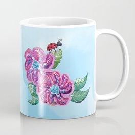The Contemplative Ladybug Coffee Mug