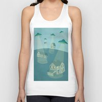 ufo Tank Tops featuring UFO by Banessa Millet