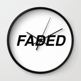 FADED Wall Clock