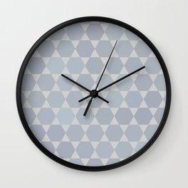 Star Of David | Modern Geometry Wall Clock
