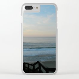 Serene Afternoon Clear iPhone Case