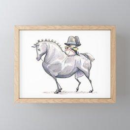 Napoleon Pug Framed Mini Art Print