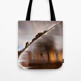 Flowing Water Abstract Tote Bag