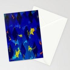 Argyle Frenzy in Lapis Stationery Cards