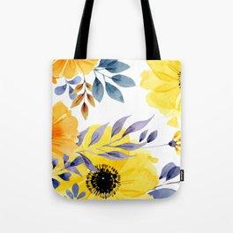 FLOWERS WATERCOLOR 10 Tote Bag