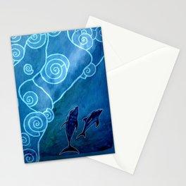 MELUSINA SEA DOLPHINS Stationery Cards
