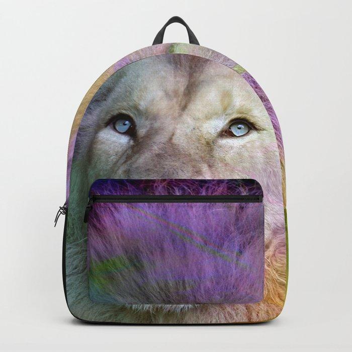 Rainbow Lion Backpack