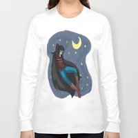 starry night Long Sleeve T-shirts featuring Starry Night by Kitty C.