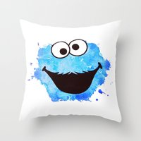 cookie Throw Pillows featuring Cookie by Cookstar