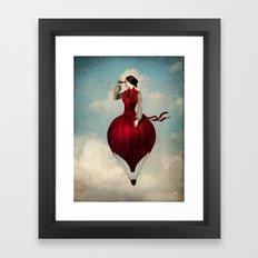 The Pleasure of Travelling Framed Art Print