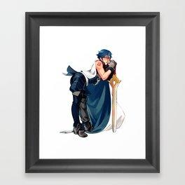Chrom 1/7 Scaled Figure Framed Art Print