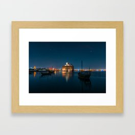 Museum of islamic art in Doha Framed Art Print