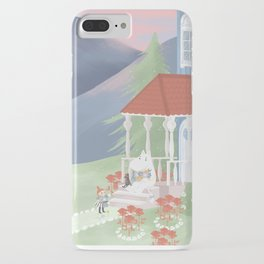 Spring in Moominvalley iPhone Case
