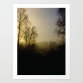 Morning in the City Art Print
