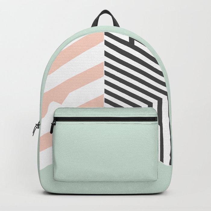 Mint Room #society6 #decor #buyart Backpack