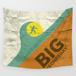 Big Wednesday Wall Tapestry