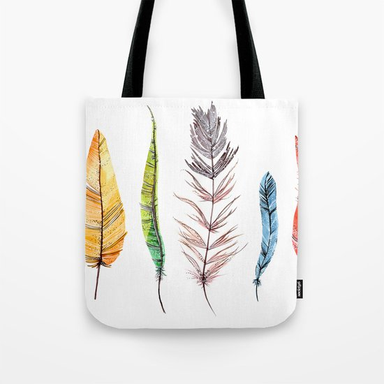 falling all around me Tote Bag