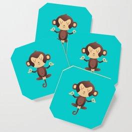 ChimpanZEN Coaster