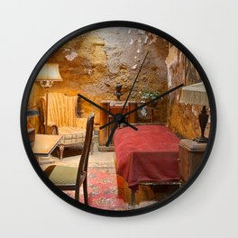 Al Capone's Luxurious Prison Cell Wall Clock