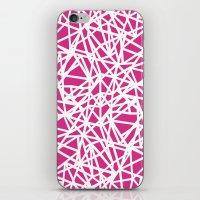 Ab Upside Down Pink iPhone & iPod Skin