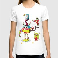 candy T-shirts featuring Candy by Teodoru Badiu