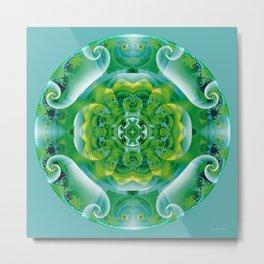 Mandalas of Healing and Awakening 4 Metal Print
