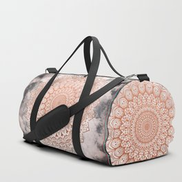 ROSE NIGHT MANDALA Duffle Bag