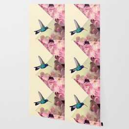 Hummingbird in love Wallpaper