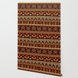Modern Aborigine Navajo Tribal Wallpaper