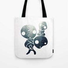 Princess Mononoke- Tree Spirits 3 Tote Bag