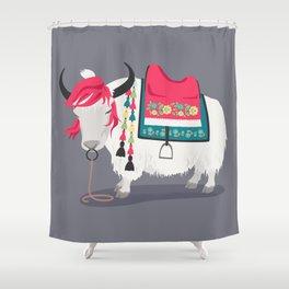 Himalayan Yak Shower Curtain