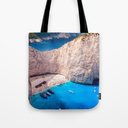 Shipwreck bay Tote Bag