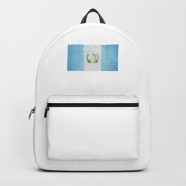Guatemala Flag design | Guatemalan design Backpack