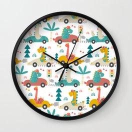 Amazing Cool Dino Design Wall Clock