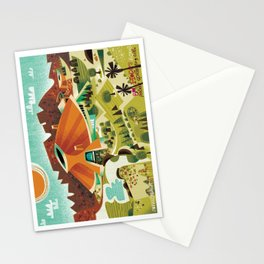 Bob Hope's House, Palm Springs Stationery Cards