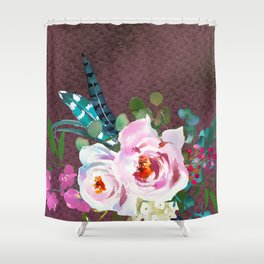 Flowers Bouquet 100 Shower Curtain
