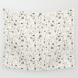 Watercolour Sheep Wall Tapestry