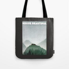 House Beautiful August 1935 Tote Bag