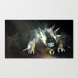 Zinogre Canvas Print