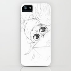 Little owl, Pigwidgeon, flying with a letter Slim Case iPhone (5, 5s)