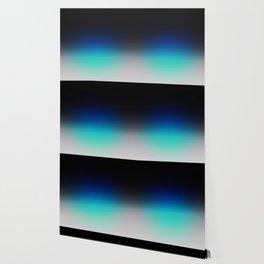 Blue Gray Black Ombre Wallpaper