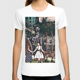 The Youngest Prince Who Defeats A Giant With A Beautiful Princess T-shirt