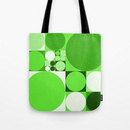 Squared Circles Tote Bag