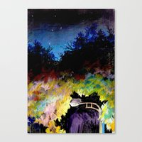 twilight Canvas Prints featuring Twilight by Ivanushka Tzepesh