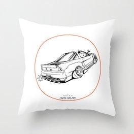 Crazy Car Art 0191 Throw Pillow