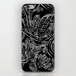 Entangled City Inverted iPhone Skin