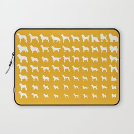 All Dogs (Gold) Laptop Sleeve