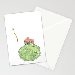 Planetas Stationery Cards