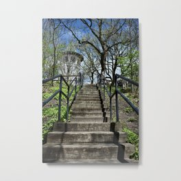 Stairway to Witch's Hat Metal Print